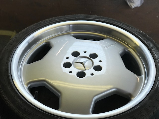Polished Mercedes Wheel