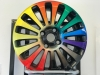 New colour tinting for your alloy wheels