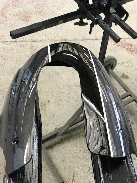 Suzuki Motorbike fairing repair