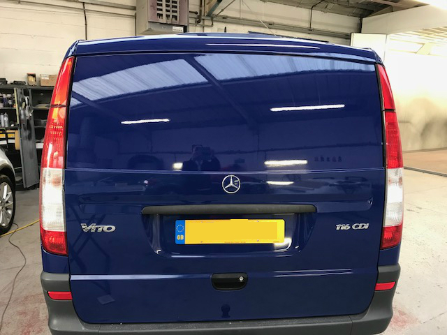 Mercedes Vito finished