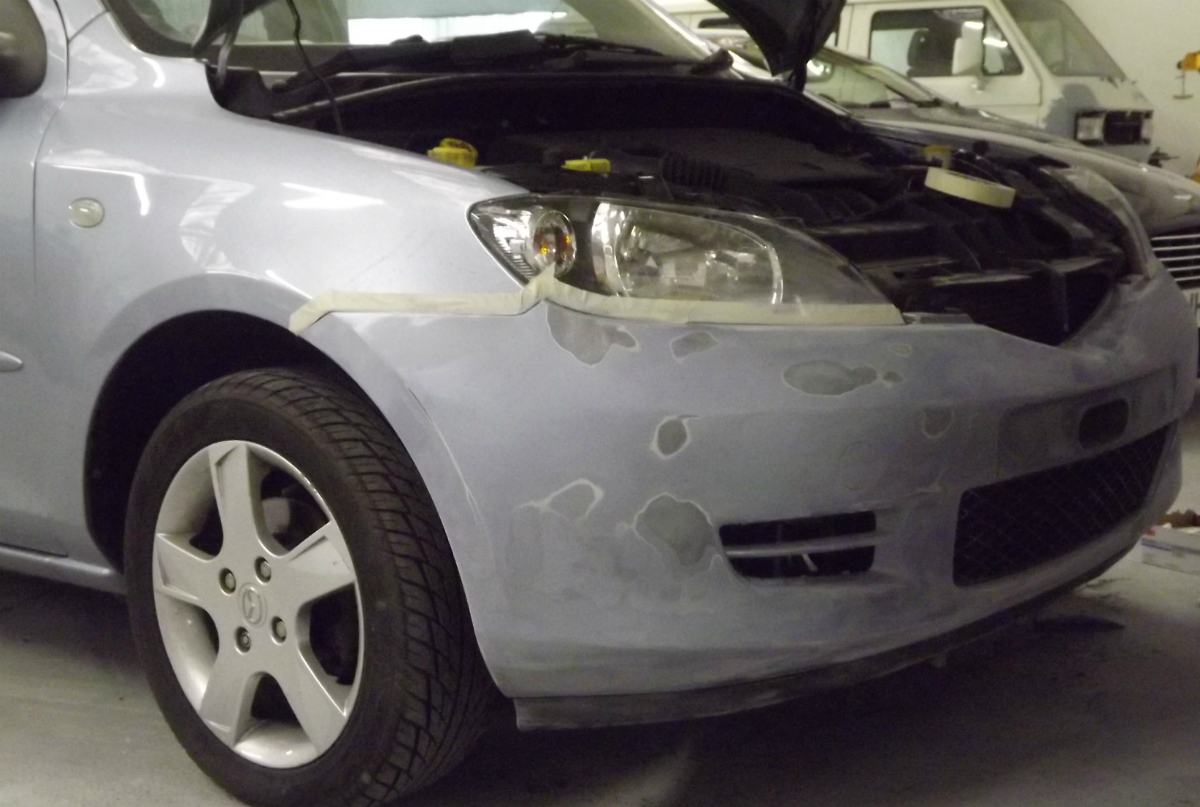 Exeter Car Bodyshop Mazda Car Body Repair Smart World Exeter - Mazda car repair