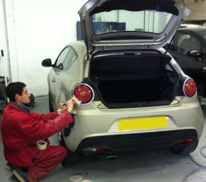 Alfa Romeo car body repair