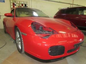 Porsche car body repairs