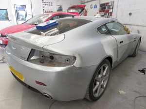 Aston Martincar body repair