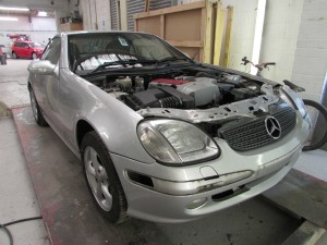 Mercedes SLK Car Body Repair