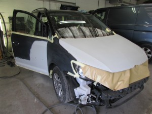 Volkswagen Touran paint repairs