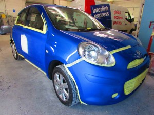 nissan micra car body repair