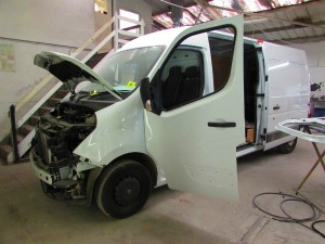Exeter van body repair