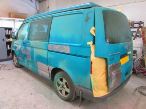VW Transporter body repair