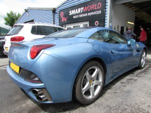 Ferrari body repairs