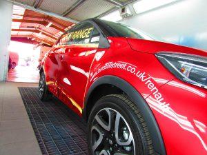 Renault Captur body repair