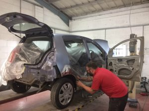 Exeter Nissan car body repair