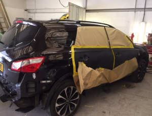 Nissan Quasqai car body repair Exeter