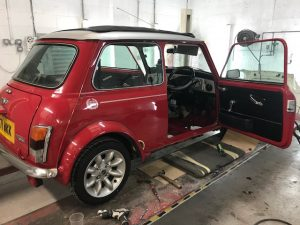 Mini club rust repair