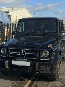 Mercedes G Wagen Car body repair