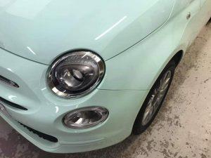 Fiat 500 front wing repair