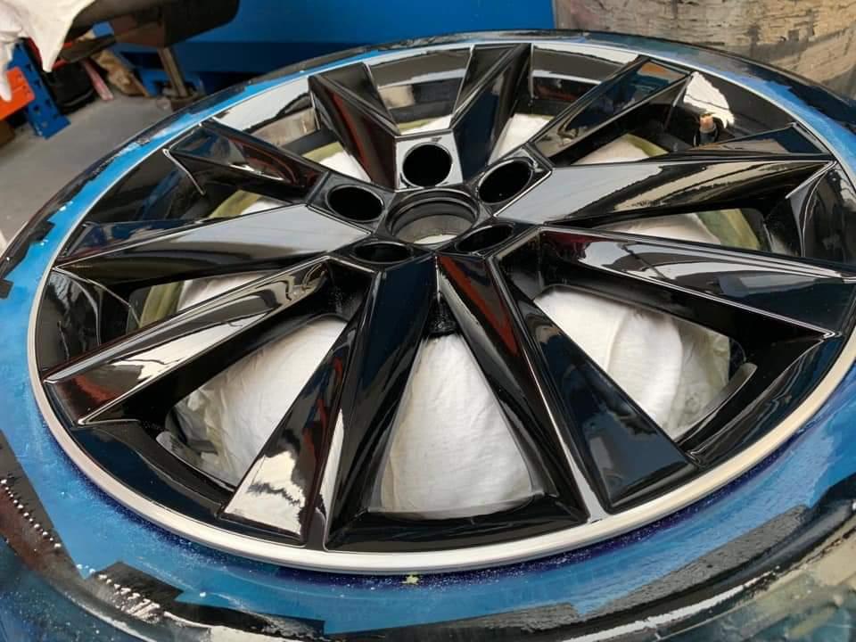Diamond Cut Alloy Wheel