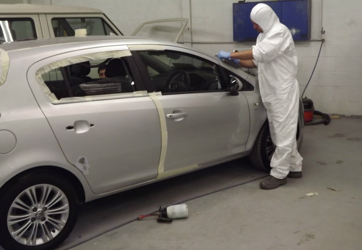 Exeter Car Paint Spraying