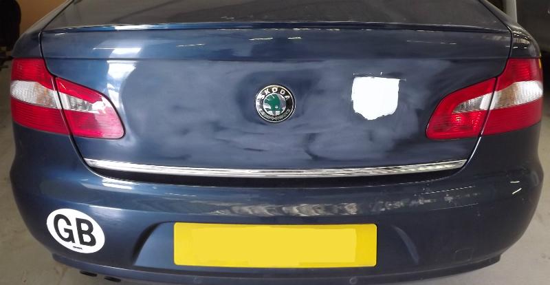 Skoda Car Paint Repair Exeter