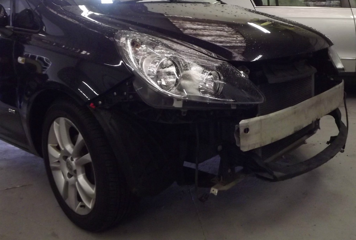 Vauxhall Corsa front end repair
