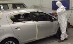 car paint spraying exeter