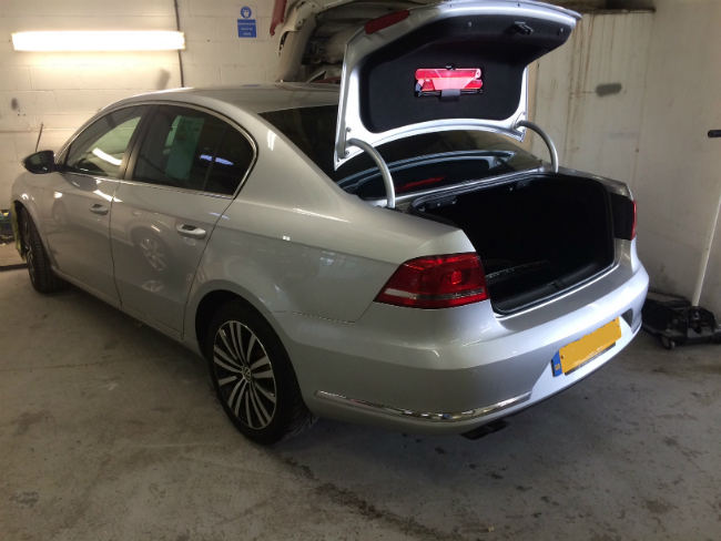 vw passat car body repair