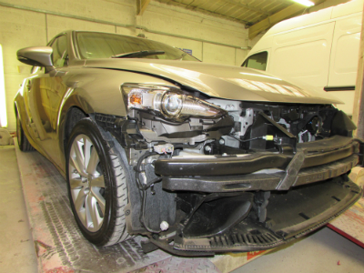 lexus car body repair