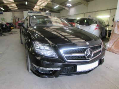 mercedes car body repair