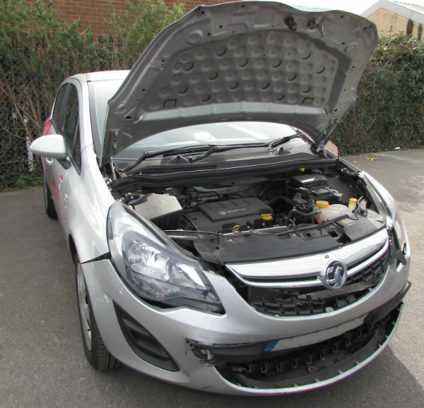vauxhall corsa car body repair
