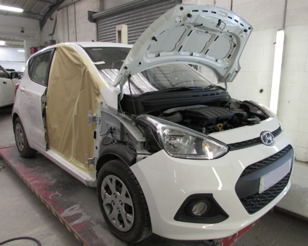 hyundai car body repair