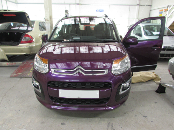 citroen car body repair