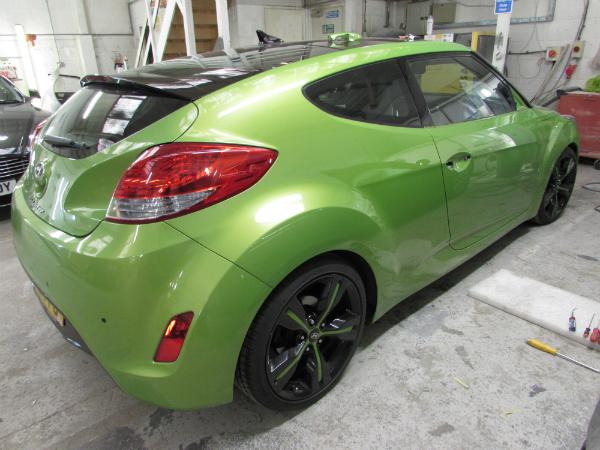 hyundai car body repair