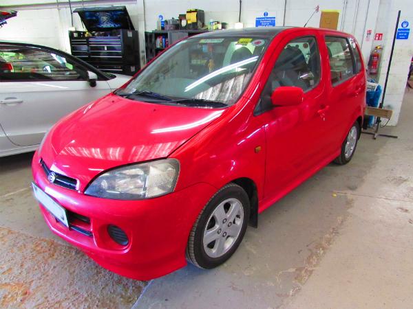 Daihatsu car body repair
