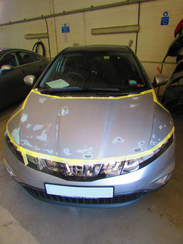 Honda Civic car body repair