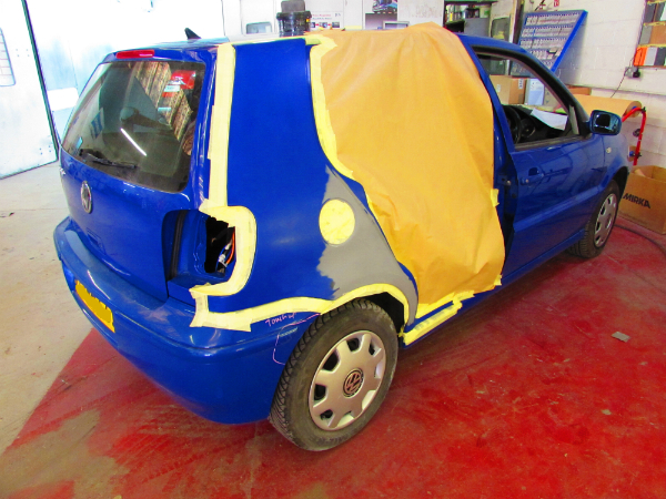 VW Polo Car Body Repair