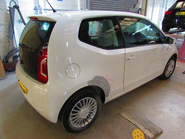 VW Up Car Body Repair