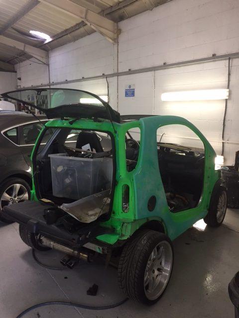 Smartcar paintwork