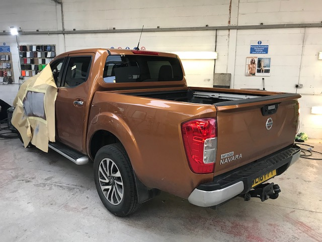 Nissan Navara damage repair
