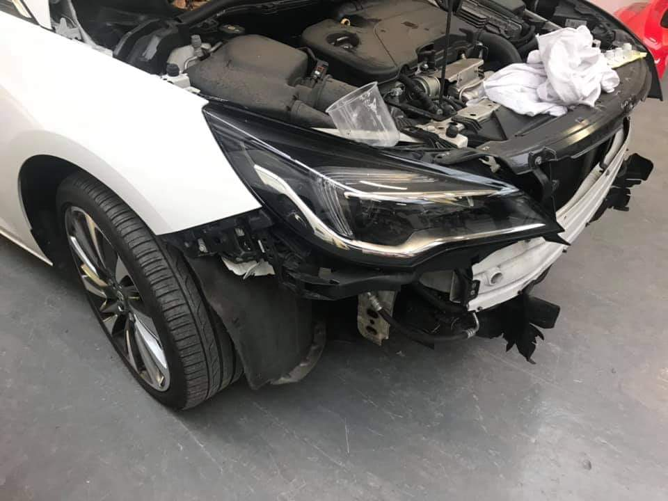 Insurance car body repair exeter