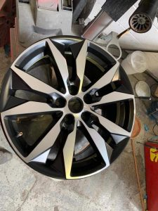 Exeter alloy wheel repair