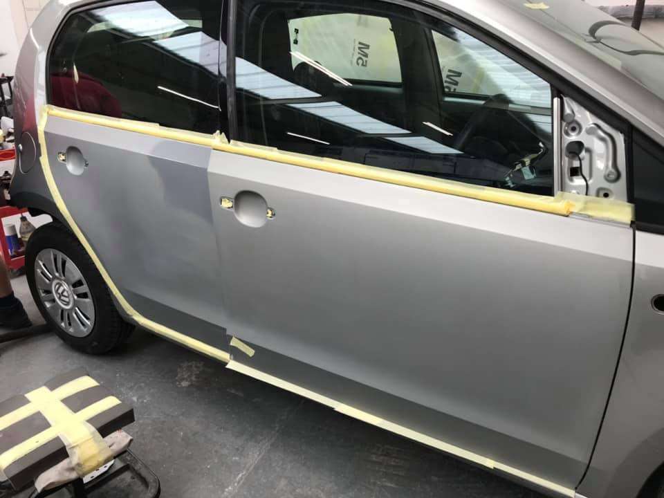 VW Lupo car body repair